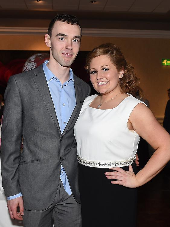Emma Bird celebrating her 21st birthday in the Westcourt hotel with boyfriend Kevin Fitzgerald. Photo:Colin Bell/pressphotos.ie
