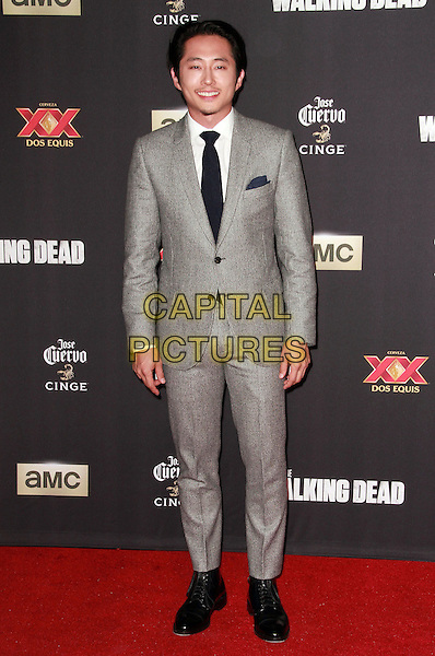 2 October 2014 - Universal City, California -  Steven Yeun  attend AMC celebrates the season five premiere of its hit series, &ldquo;The Walking Dead,&rdquo;  at the  AMC Universal Citywalk Stadium 19/IMAX.  <br /> CAP/ADM/TBO<br /> &copy;Theresa Bouche/AdMedia/Capital Pictures