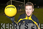 Crokes Captain Kieran O'Leary