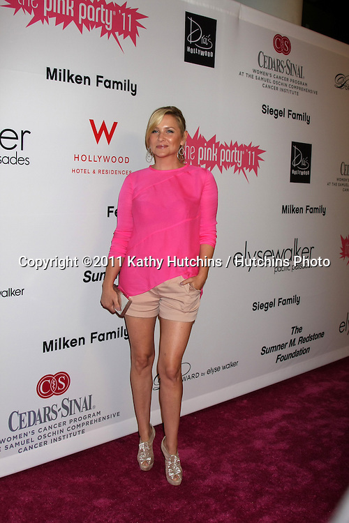 LOS ANGELES - SEP 10:  Jessica Capshaw arriving at the 2011 Pink Party at Drai's - W Hollywood on September 10, 2011 in Los Angeles, CA