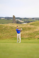 Pat Murray (Limerick) on the 14th during Round 3 of The South of Ireland in Lahinch Golf Club on Monday 28th July 2014.<br /> Picture:  Thos Caffrey / www.golffile.ie