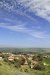 Israel, Lower Galilee, a view of Yavne'el, established in 1901