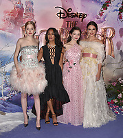 Ellie Bamber, Misty Copeland, Mackenzie Foy, Keira Knightley<br /> 'The Nutcracker and the Four Realms' European Film Premiere at Westfield, London, England  on November 01,  2018.<br /> CAP/PL<br /> &copy;Phil Loftus/Capital Pictures<br /> 'The Nutcracker and the Four Realms' European Film Premiere at Westfield, London, England  on November 01,  2018.<br /> CAP/PL<br /> &copy;Phil Loftus/Capital Pictures