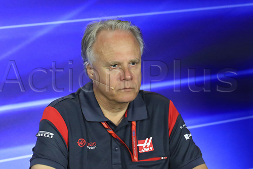 1st September 2017, Autodromo Nazionale Monza, Monza; Italian Grand Prix, Friday FIA Team Press Conference; Gene Haas  - Founder and Chairman of Haas F1 Team