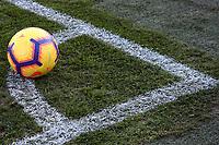 Pallone della Serie A, Ball<br /> Bergamo 26-12-2018  Stadio Atleti Azzurri d&rsquo;Italia <br /> Football Campionato Serie A 2018/2019 <br /> Atalanta - Juventus<br /> Foto Cesare Purini / Insidefoto