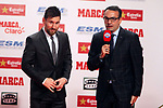 Lionel Messi Bota de Oro 2016/2017.<br /> Lionel Messi &amp; Edu Garcia.