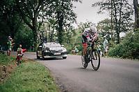 Bauke Mollema (NED/Trek-Segafredo)<br /> <br /> Stage 20 (ITT): Saint-Pée-sur-Nivelle >  Espelette (31km)<br /> <br /> 105th Tour de France 2018<br /> ©kramon