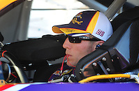 Apr 10, 2008; Avondale, AZ, USA; NASCAR Sprint Cup Series driver Jamie McMurray during qualifying for the Subway Fresh Fit 500 at Phoenix International Raceway. Mandatory Credit: Mark J. Rebilas-