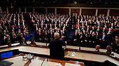 U.S. President Donald Trump delivers his State of the Union address to a joint session of the U.S. Congress on Capitol Hill in Washington, U.S. January 30, 2018. <br /> Credit: Jim Bourg / Pool via CNP