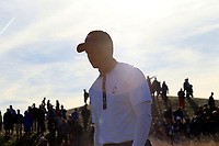 Tiger Woods (Team USA) walks off the 13th tee during Saturday's Foursomes Matches at the 2018 Ryder Cup 2018, Le Golf National, Ile-de-France, France. 29/09/2018.<br /> Picture Eoin Clarke / Golffile.ie<br /> <br /> All photo usage must carry mandatory copyright credit (© Golffile | Eoin Clarke)
