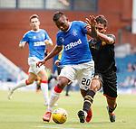 14.07.2019: Rangers v Marseille: Alfredo Morelos and Boubacar Kamara