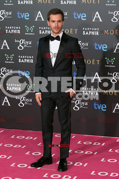 Marc Clotet attend the 2015 Goya Awards at Auditorium Hotel, Madrid,  Spain. February 07, 2015.(ALTERPHOTOS/)Carlos Dafonte) /NORTEphoto.com
