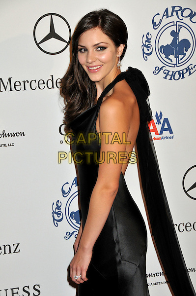 KATHARINE McPHEE .The 30th Annual Carousel Of Hope Ball at the Beverly Hilton Hotel, Beverly Hills, California, USA..October 25th, 2008.half length silk satin dress black halterneck katherine catherine .CAP/ADM/BP.©Byron Purvis/AdMedia/Capital Pictures.