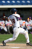 March 6 2009: Trent Diedrich of the Pepperdine Waves in action against the Evansville Purple Aces at Eddy D. Field Stadium in Malibu,CA.  Photo by Larry Goren/Four Seam Images