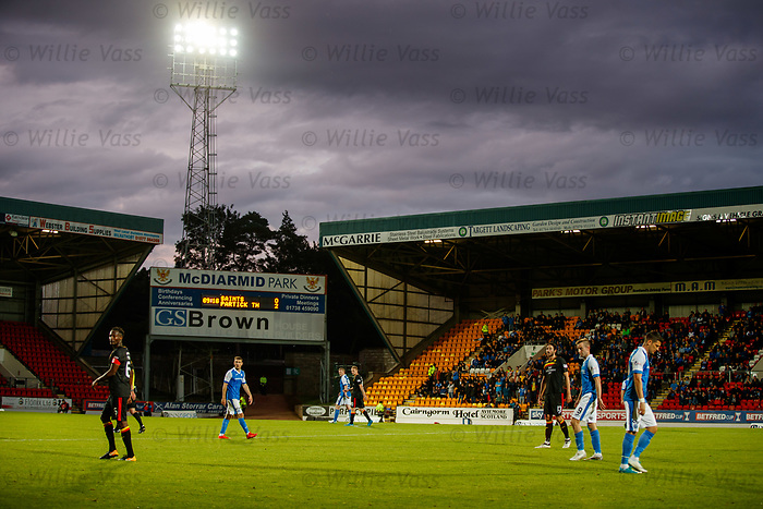 McDiarmid Park, dejection for St Johnstone with another goal still to lose