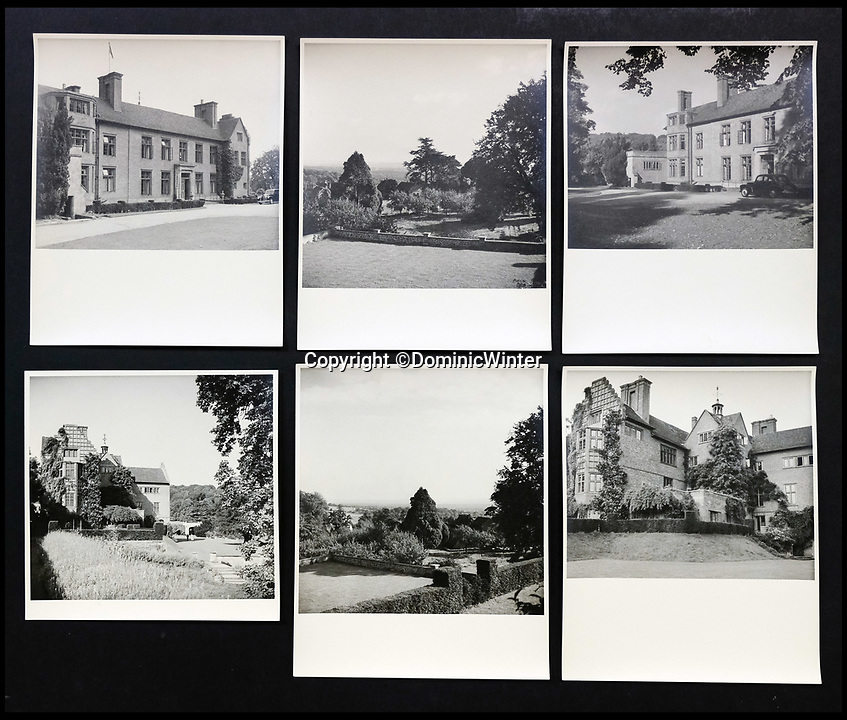 BNPS.co.uk (01202 558833)<br /> Pic:  DominicWinter/BNPS<br /> <br /> A montage of the grounds at Churchill's Chartwell residence.<br /> <br /> Charming photos of Winston Churchill with his grandchildren have emerged for sale - alongside one of his trademark cigars.<br /> <br /> The candid snaps reveal Churchill enjoying the company of his wife Clementine and their grandchildren at Chartwell, their family home.<br /> <br /> They were taken in 1951, at which point he had just been re-installed as Prime Minister after a six year absence.<br /> <br /> The partly-smoked cigar was taken by a naval officer as a memento of the British wartime leader's stay on board HMS Pembroke in 1943.