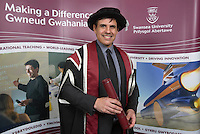 2017 01 11 Chris Coleman gets honorary degree from Swansea University, Wales, UK