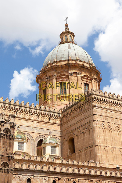 Dome of Palermo Cathedral, Palermo, Sicily, Italy<br /> August 2015<br /> CAP/MEL<br /> &copy;MEL/Capital Pictures