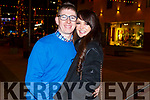 Sarah Galway (Ballyheigue) and Sean Quirke (Ballymac) enjoying New Years Eve in Tralee.