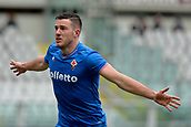 18th March 2018, Stadio Olimpico di Torino, Turin, Italy; Serie A football, Torino versus Fiorentina; Jordan Veretout celebrates after scoring his goal for 1-0 in the 59th minute