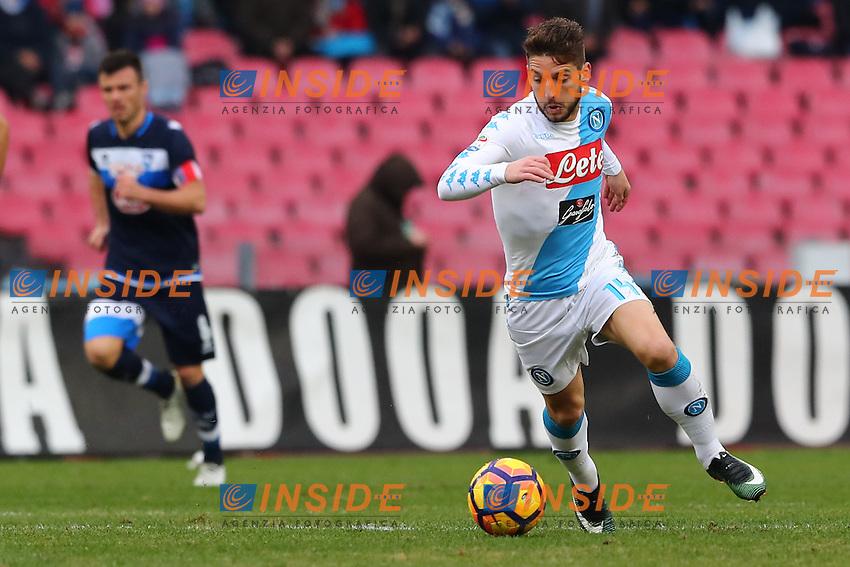 Dries Mertens Napoli<br /> Napoli 15-01-2017  Stadio San Paolo <br /> Football Campionato Serie A 2016/2017 <br /> Napoli - Pescara<br /> Foto Cesare Purini / Insidefoto