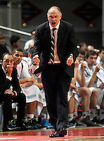 Real Madrid's coach Pablo Laso during Euroleague 2012/2013 match.November 23,2012. (ALTERPHOTOS/Acero) /NortePhoto