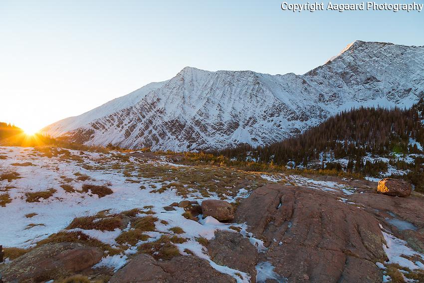 Sunrise, South Colony Lakes