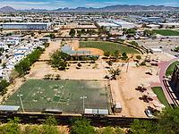 Vista aerea de Complejo deportivo de la Comisión Estatal de Deporte, CODESON en Hermosillo, Sonora....<br /> <br /> Estadio de béisbol Estadio Fernando M. Ortiz<br /> <br /> <br /> Photo: (NortePhoto / LuisGutierrez)<br /> <br /> ...<br /> keywords: