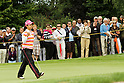 Ai Miyazato (JPN), JULY 24, 2011 - Golf :Ai Miyazato of Japan celebrates a putt as JLPGA president Hiromi Kobayashi looks on during the final round of the Evian Masters at the Evian Masters Golf Club in Evian-les-Bains, France. (Photo by Yasuhiro JJ Tanabe/AFLO)JLPGA