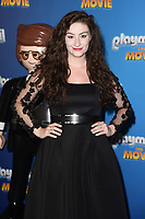 "Amber Doig-Thorne<br /> arriving for the ""Playmobil:The Movie"" premiere at the Vue Leicester Square, London<br /> <br /> ©Ash Knotek  D3515  04/08/2019"