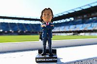 SAN JOSE, CA - FEBRUARY 29: San Jose Earthquakes head coach Matias Almeyda bobblehead during a game between Toronto FC and San Jose Earthquakes at Earthquakes Stadium on February 29, 2020 in San Jose, California.
