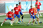 Spain's Nacho Monreal, Doego Costa, Asier Illarramendi and Javi Martinez during training session. March 21,2017.(ALTERPHOTOS/Acero)