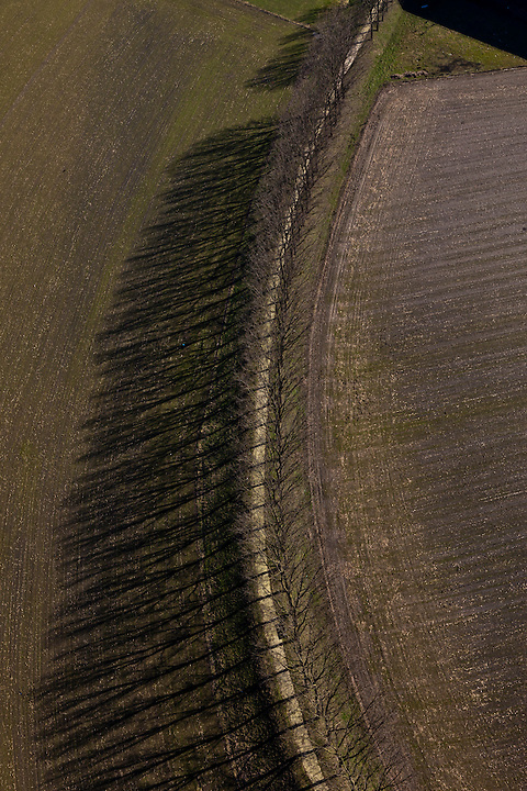 Nederland, Limburg, XXX, Noord-Brabant, 07-03-2010 ; ..luchtfoto (toeslag), aerial photo (additional fee required).foto/photo Siebe Swart