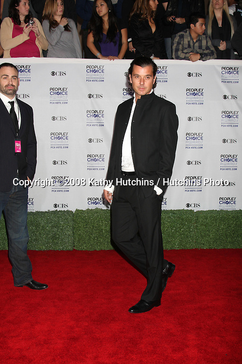 Gavin Rossdale   arriving at the People's Choice Awards at the Shrine Auditorium, in Los Angeles, CA on .January 7, 2009.©2008 Kathy Hutchins / Hutchins Photo..                .