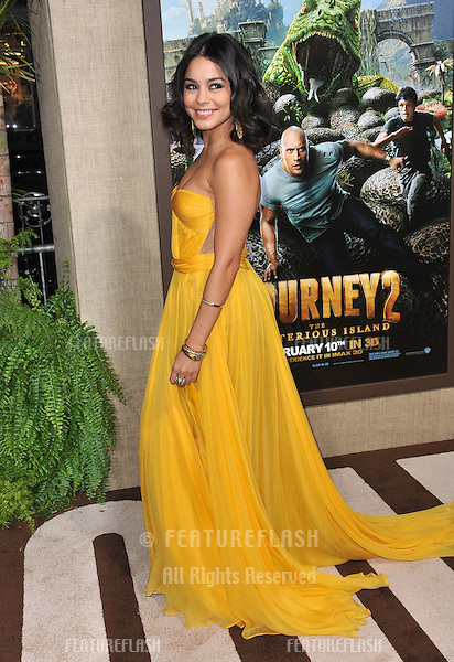 "Vanessa Hudgens at the Los Angeles premiere of her new movie ""Journey 2: The Mysterious Island"" at Grauman's Chinese Theatre, Hollywood..February 2, 2012  Los Angeles, CA.Picture: Paul Smith / Featureflash"