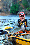 KAYAK FALL FLY FISHING 2012 ANGLER IS TOBY THOMPSON