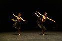 Astana Ballet Theatre presents a mixed bill of four one-act pieces, in their UK debut, in the Linbury Theatre, Royal Opera House. The piece shown is THE HERITAGE OF THE GREAT STEPPE, choreographed by Aigul Tati, Mukaram Avakhri, and A Tsoy. Performed by ballet dancers of Astana Ballet Theatre.