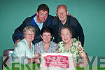 Enjoying the 40th anniversary of Bballybunion Community Centre on Friday night were front l-r Kathleen Kelly, Ballybunion, Ann Quirke, Lisselton, Phil Enright, , Christina Joyce, Ballybunion, Eileen Daly, Killarney, Margaret Purtill, and John Joy Ballybunion. Back l-r Seamus Doherty, Limerick, Tommie Healy, Tralee, Mike Purtill, Edmund Joyce, Ballybunion and Brendan gaynor, Tralee..