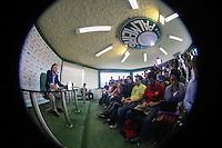 SAO PAULO, SP, 28.04.2014 - COLETIVA PRESIDENTE PALMEIRAS - Paulo Nobre presidente do Palmeiras durante coletiva de imprensa na Academia do Futebol no bairro da Barra Funda  regiao oeste da ciade de Sao Paulo na tarde desta segunda-feira, 28 (Foto: Vanessa Carvalho / Brazil Photo Press).