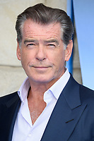 Pierce Brosnan arriving for the &quot;Mama Mia! Here We Go Again&quot; world premiere at the Eventim Apollo, Hammersmith, London, UK. <br /> 16 July  2018<br /> Picture: Steve Vas/Featureflash/SilverHub 0208 004 5359 sales@silverhubmedia.com