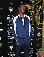 Giggs (Nathaniel Thomson) at the 2018 Gumball 3000 Rally launch party, Proud Embankment, Victoria Embankment, London, England, UK, on Saturday 04 August 2018.<br /> CAP/CAN<br /> &copy;CAN/Capital Pictures