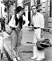 Annie Hall (1977) <br /> Diane Keaton and Woody Allen<br /> *Filmstill - Editorial Use Only*<br /> CAP/KFS<br /> Image supplied by Capital Pictures
