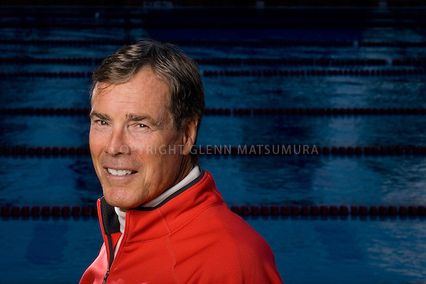 Stanford swim coach Skip Kenney