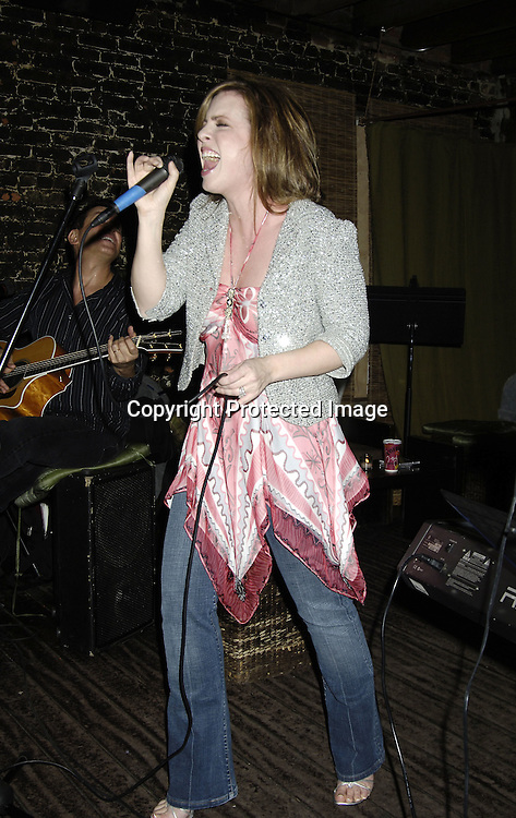 "Martha Byrne ..at a record release party for Martha Byrne's new CD ""The Other Side""  on November 2, 2005 at Soho 323...Photo by Robin Platzer, Twin Images"