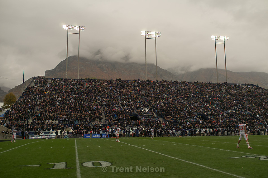 Trent Nelson  |  The Salt Lake Tribune.BYU hosts Oregon State college football Saturday October 13, 2012 in Provo, Utah.