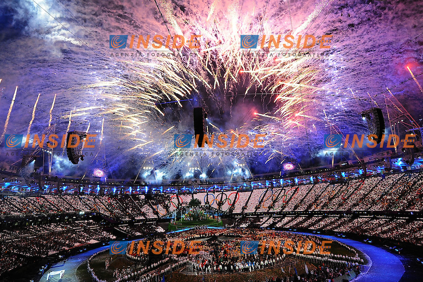 .London 27/7/2012 .London 2012 Olympic games - Olimpiadi Londra 2012.Open Ceremony - Cerimonia Apertura.Foto Andrea Staccioli Insidefoto