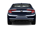 Straight rear view of a 2019 Buick LaCrosse Essence 4 Door Sedan stock images