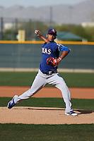 Jonathan Hernandez - Texas Rangers 2016 spring training (Bill Mitchell)