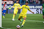 Mario Gaspar of Villarreal during the match of La Liga between Atletico de Madrid and Villarreal at Vicente Calderon  Stadium  in Madrid, Spain. April 25, 2017. (ALTERPHOTOS/Rodrigo Jimenez)