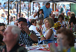 The crowd enjoys the Concert Under the Stars event benefiting the Greenhouse Project in Carson City, Nev., on Wednesday, July 9, 2014.<br /> Photo by Cathleen Allison